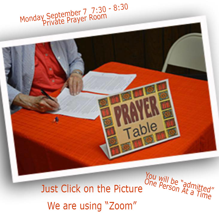 Prayer Table Link